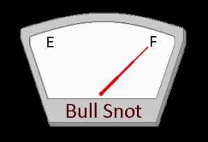 BullSnotMeter